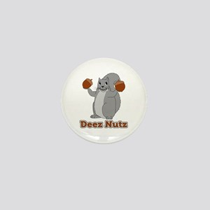 Deez Nutz Squirrel Mini Button