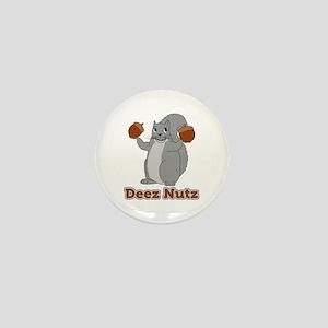 Deez Nutz Squirrel Mini Button