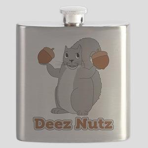 Deez Nutz Squirrel Flask