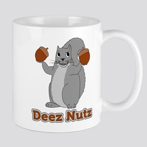 Deez Nutz Squirrel Mugs