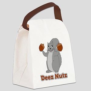 Deez Nutz Squirrel Canvas Lunch Bag
