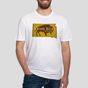 Black Hills Bison Buffalo Vintage T-Shirt