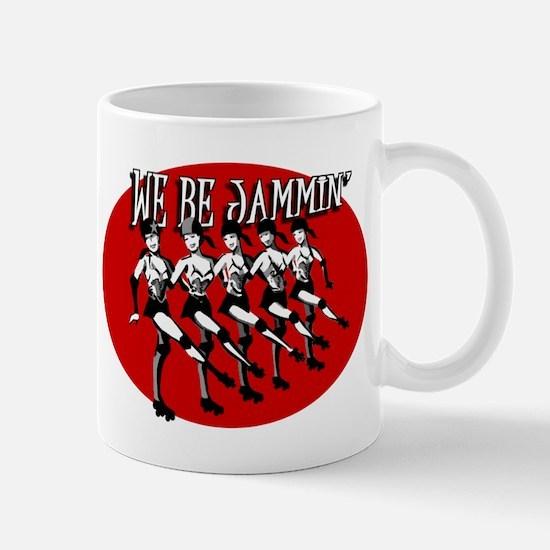 We Be Jammin Large Mugs