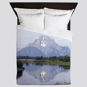 Mount Moran Queen Duvet