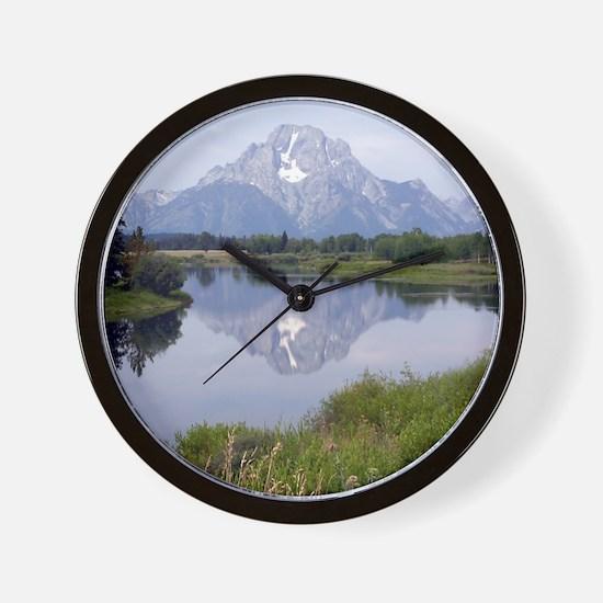 Mount Moran Wall Clock