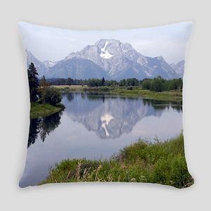 Mount Moran Everyday Pillow