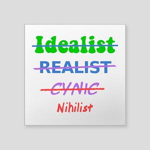 Evolution Of A Nihilist Sticker