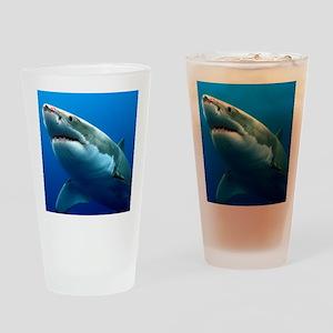 GREAT WHITE SHARK 3 Drinking Glass