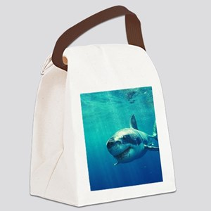 GREAT WHITE SHARK 1 Canvas Lunch Bag