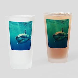 GREAT WHITE SHARK 1 Drinking Glass