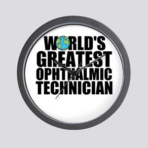 World's Greatest Ophthalmic Technician Wall Cl