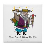 King Tile Coaster