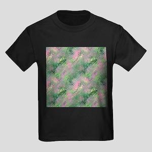 Green Crystal Gel Pattern T-Shirt