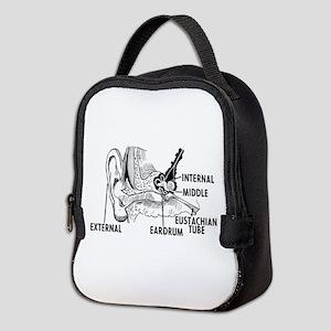 Ear Diagram Neoprene Lunch Bag