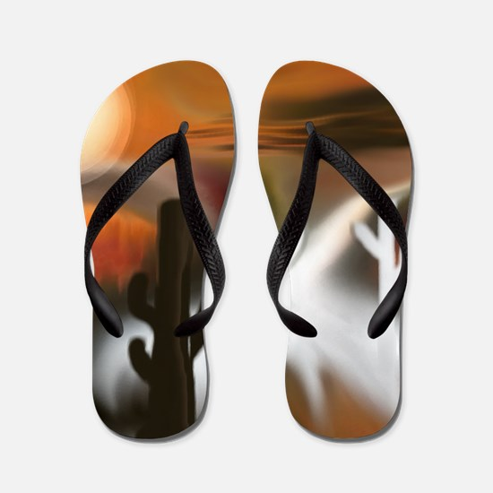 Southwest Fire and Ice Flip Flops