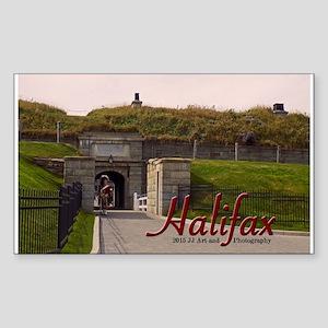 Halifax Citadel Sticker (rectangle)