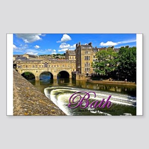 Bath Bridge Sticker (rectangle)