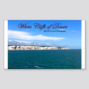 White Cliffs Of Dover Sticker (rectangle)