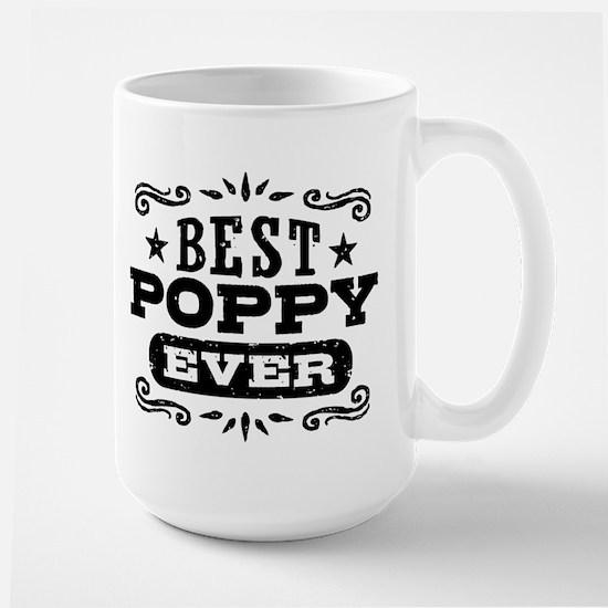 Best Poppy Ever Large Mug
