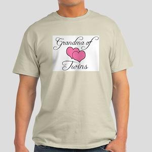 Grandma of Twins Light T-Shirt
