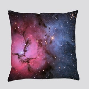 TRIFID NEBULA Everyday Pillow