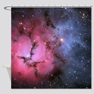 TRIFID NEBULA Shower Curtain