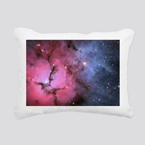 TRIFID NEBULA Rectangular Canvas Pillow