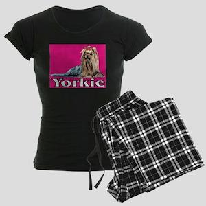 Yorkshire Terrier, Yorkie Ur Women's Dark Pajamas