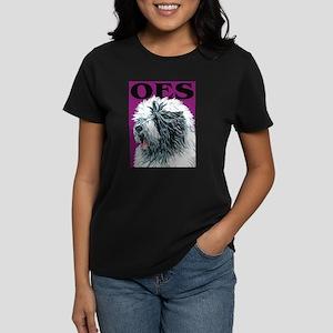 Old English Sheepdog Urban Po Women's Dark T-Shirt