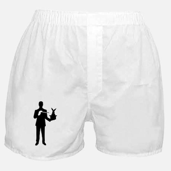 Magician bunny rabbit Boxer Shorts
