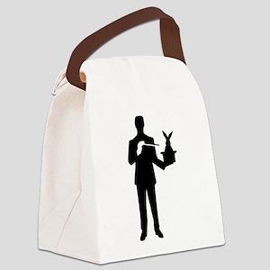 Magician bunny rabbit Canvas Lunch Bag