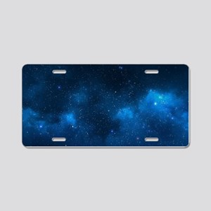 STARRY SPACE Aluminum License Plate