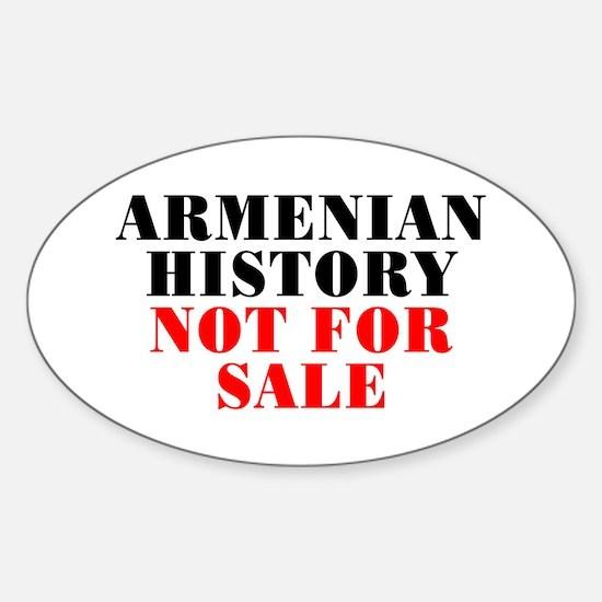 Armenian history - Sticker (Oval)