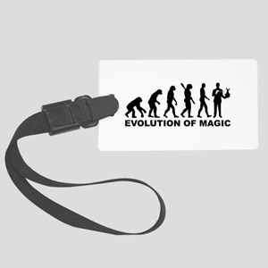 Evolution of Magic Large Luggage Tag