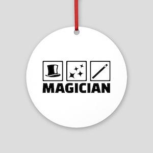 Magician equipment Round Ornament