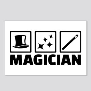Magician equipment Postcards (Package of 8)