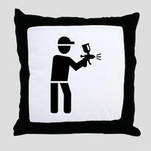 Lacquerer Throw Pillow