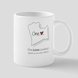 One Love Loudoun Make a Difference Mugs
