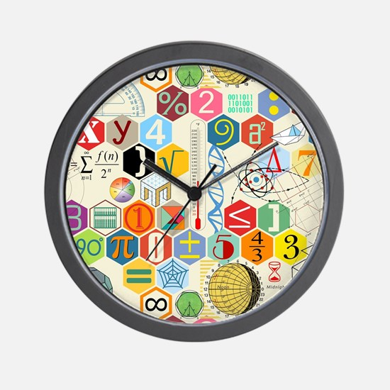 Funny Math Wall Clock