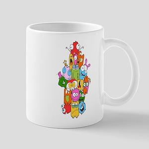 Cute Monster Mugs