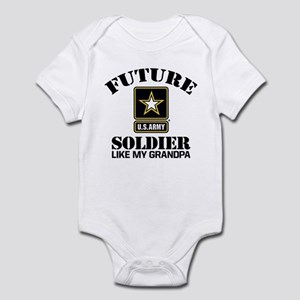 Future Army Soldier Like My Grandp Infant Bodysuit
