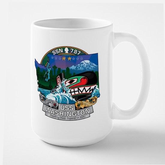 USS Washington SSN-787 Large Mug