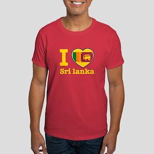 I love Sri Lanka Dark T-Shirt