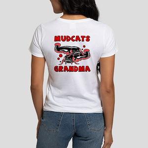 Mudcats Grandma (front/back) Women's T-Shirt