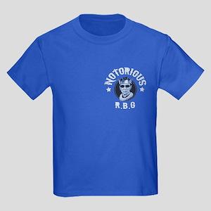 Notorious RBG III Kids Dark T-Shirt