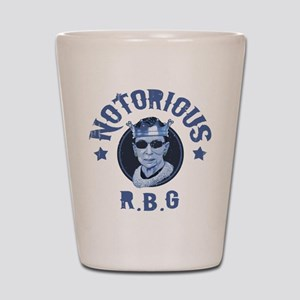 Notorious RBG III Shot Glass
