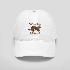 PERSONALIZED Ferret Graphic Baseball Cap