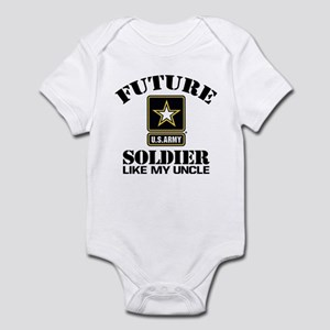 Future Army Soldier Like My Uncle Infant Bodysuit