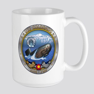 USS Colorado SSN-788 Large Mug
