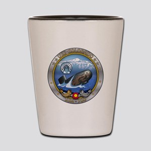 USS Colorado SSN-788 Shot Glass